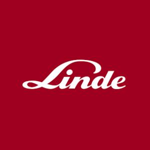 Linde logo linking to portal